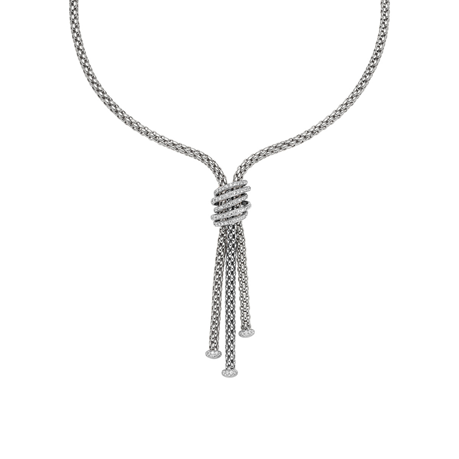 Fope 18ct White Gold Diamond MiaLuce Necklace