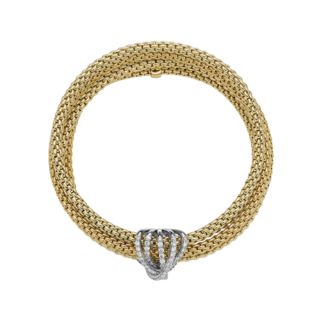 Fope 18ct Yellow Diamond MiaLuce Bracelet