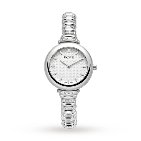 Fope 18ct White Gold Lady Fope Watch