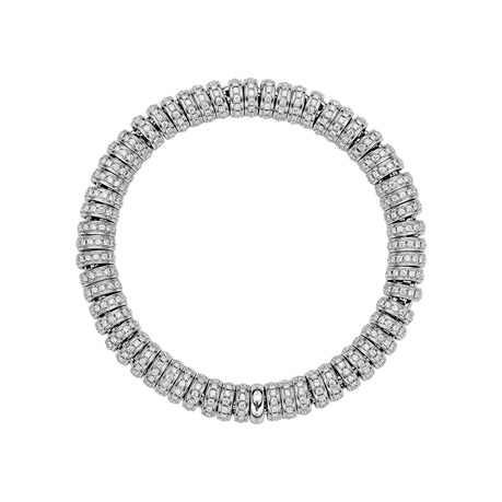 Fope 18ct White Gold Diamond Prima Bracelet