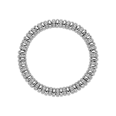 Fope 18ct White Gold Diamond Solo Bracelet
