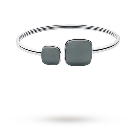 Skagen Sea Glass Silver-tone Bangle