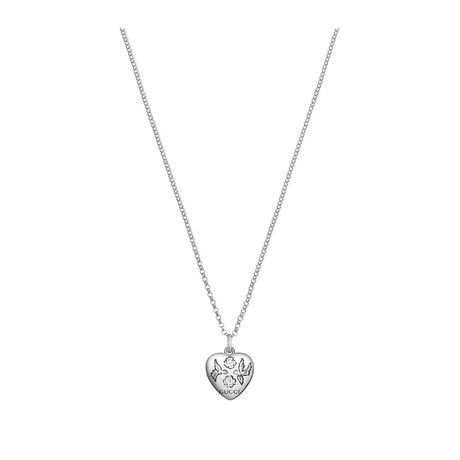3ccbc840636 Gucci Exclusive Blind For Love Heart Necklace