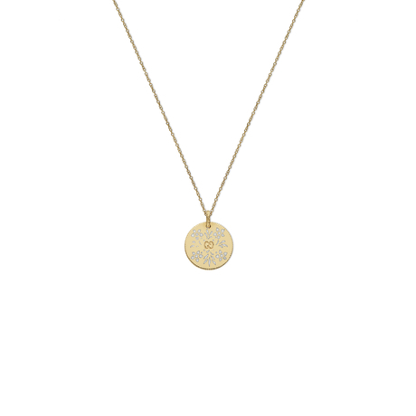 Gucci Icon Necklace in 18ct Yellow Gold