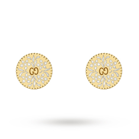 Gucci Icon Stud Earrings in 18ct Yellow Gold