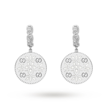 Gucci Icon Drop Earrings in 18ct White Gold