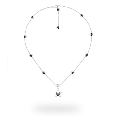 Gucci Blind for Love Black Star Necklace