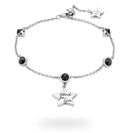 Gucci Blind for Love Black Star Bracelet