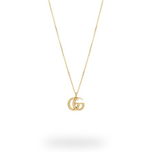 Gucci Large Double G 18ct Yellow Gold Necklace