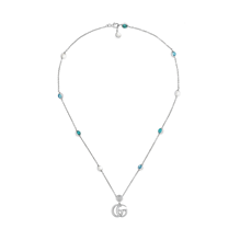 For Her - Gucci GG Marmont Pendant Necklace - YBB527399001