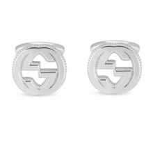 Gucci Interlocking G Cufflinks Sterling Silver