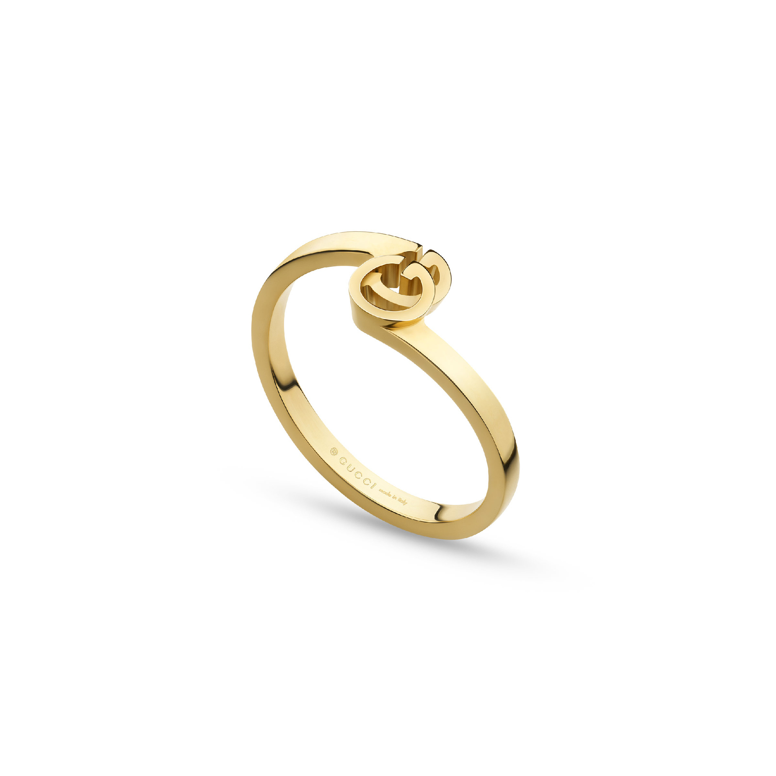 Gucci Running G Ring in 18ct Yellow Gold - Ring Size J thumbnail