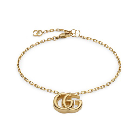 Gucci Double G 18ct Yellow Gold Bracelet
