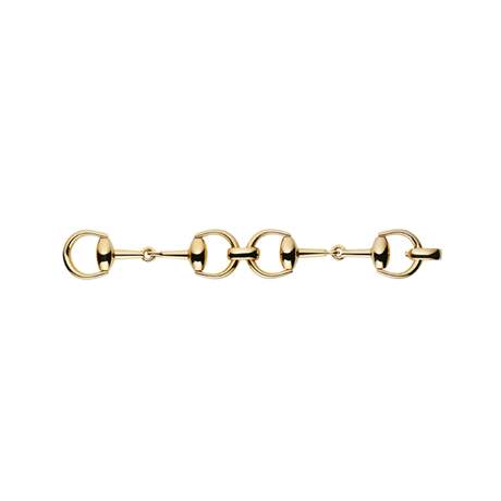 Gucci Horsebit 18ct Yellow Gold Bracelet
