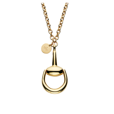 Gucci Horsebit 18ct Yellow Gold Necklace
