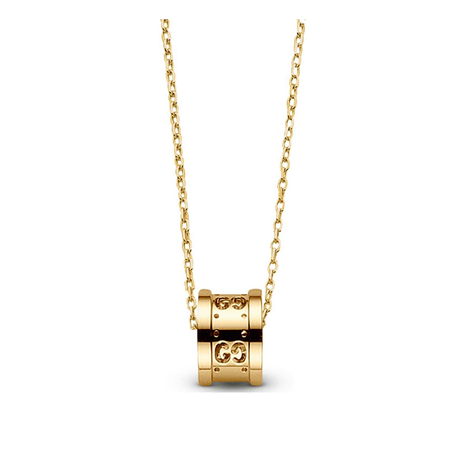 Gucci Icon 18ct Yellow Gold Pendant