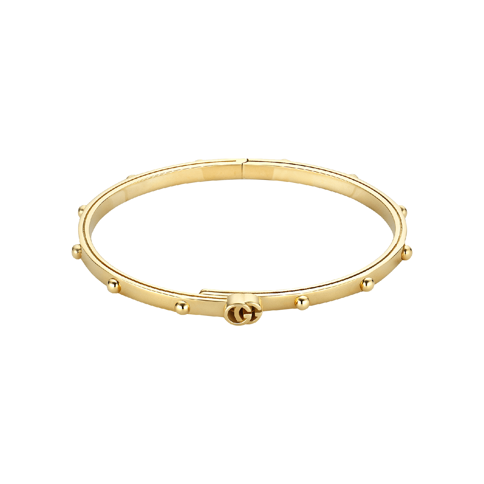 4f59517d2 Gucci GG Running 18ct Yellow Gold Bangle | Bracelets | Jewellery |  Goldsmiths