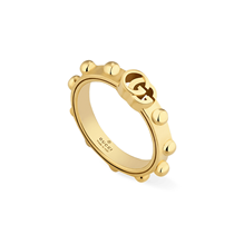 Gucci GG Running 18ct Yellow Gold Ring
