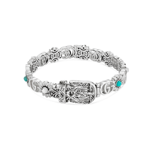Gucci GG Marmont Silver Mix Stone Bangle