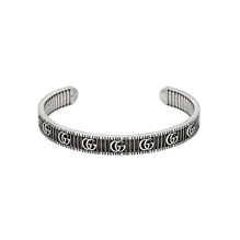 Gucci GG Marmont Silver Bangle