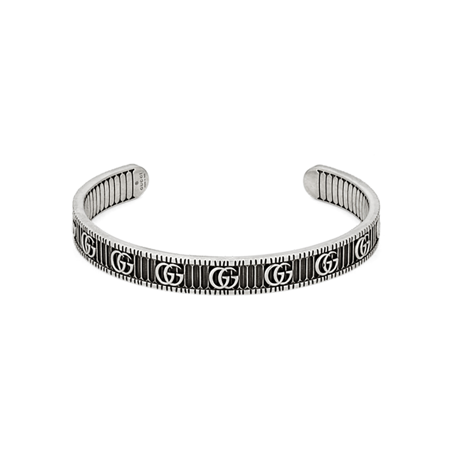 0940a9c3b Gucci GG Marmont Silver Bangle | Bracelets | Jewellery | Goldsmiths