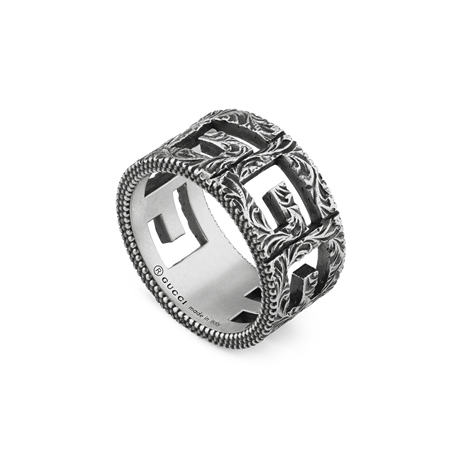18d36c9efd Gucci Silver Jewellery, Silver Rings, Earrings, Necklaces ...