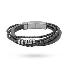 Fossil Jewellery Mens Stainless Steel Casual Bracelet