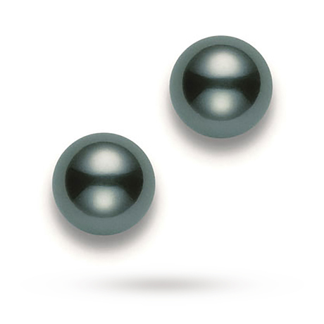 Mikimoto South Sea Collection Tahitian Pearl Stud Earrings