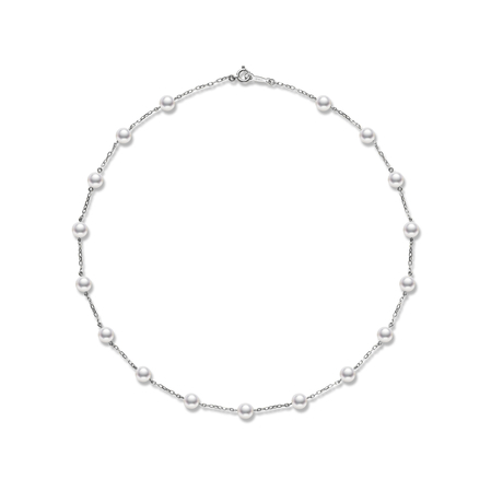 Mikmoto Pearl Chain Collection Necklet