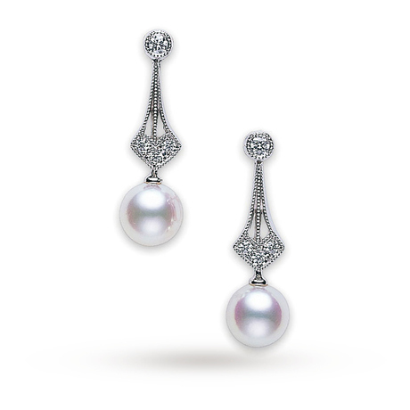 Mikimoto Vintage Collection Earrings