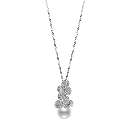 Mikimoto Fortune Leaves Pendant