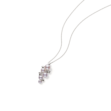 Mikimoto Starry Sky Collection Akoya Pearl & Diamond Pendant