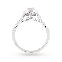 Jenny Packham Brilliant Cut 0.54 Carat Total Weight Diamond Bridal Set Ring in Platinum