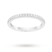 Jenny Packham Brilliant Cut 0.23 Carat Total Weight Wedding Ring in Platinum