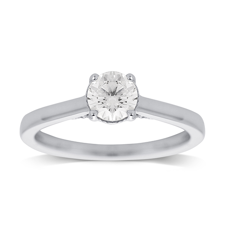 Jenny Packham 18ct White Gold 0.65ct Diamond Ring
