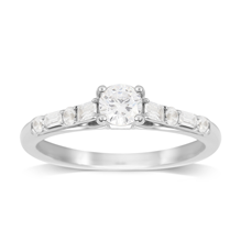 Jenny Packham 18ct White Gold 0.60ct Diamond Ring