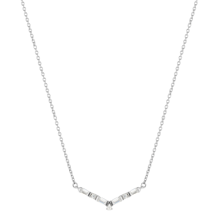Jenny Packham 9ct White Gold 0.13cttw Baguette Necklace