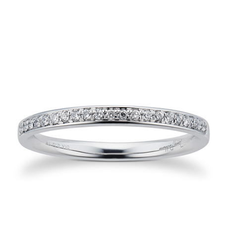 Jenny Packham 18ct White Gold 0.12cttw Daimond Wedding Ring