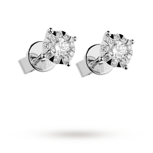 Mappin & Webb Brilliant Cut 0.51ct Solitaire Style Studs