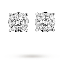 Mappin & Webb Masquerade 0.21ct Diamond Stud Earrings
