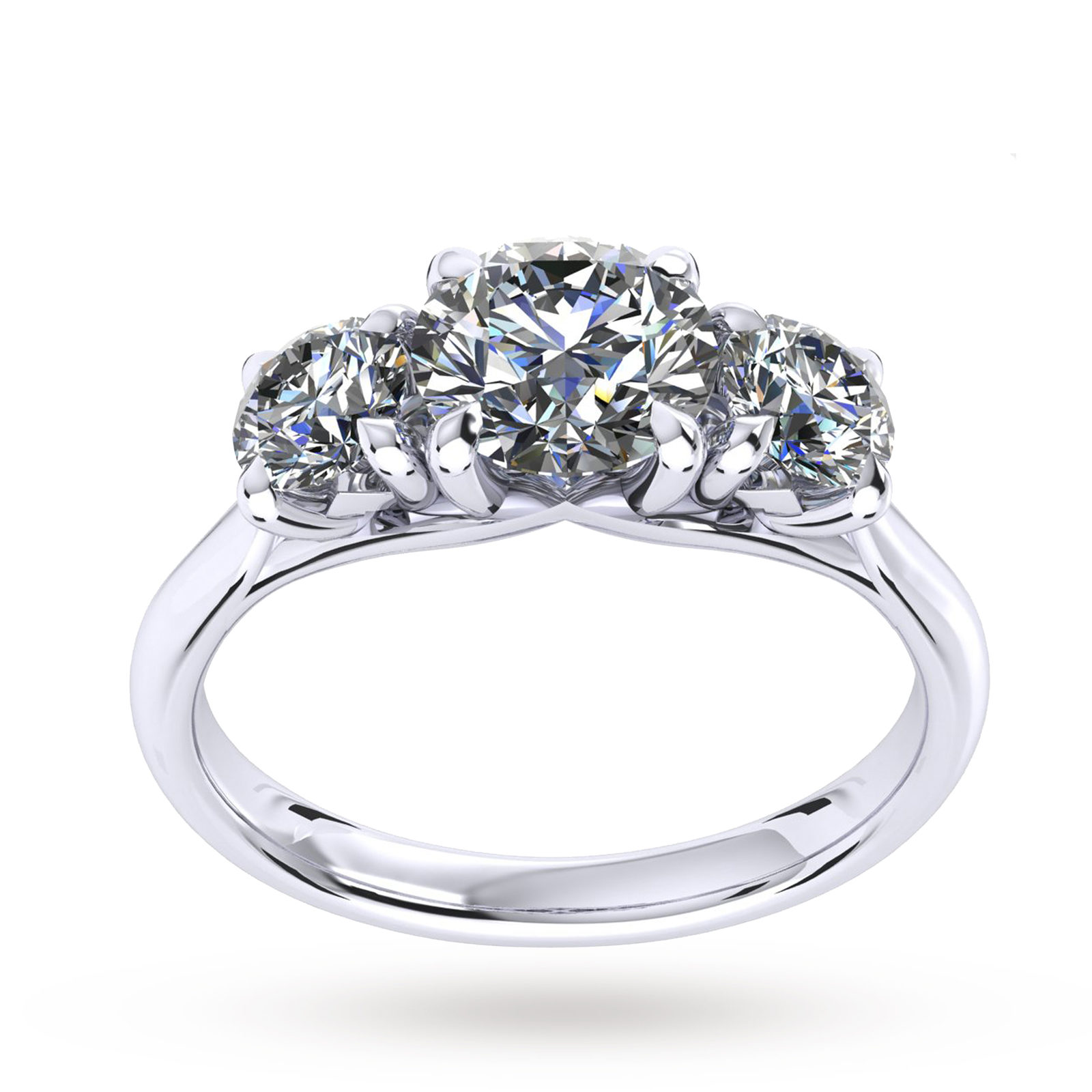 wedding diamond stone products three band carat engagement d ring img rings