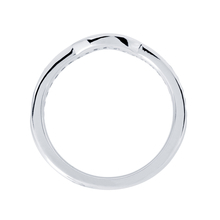 Mappin & Webb Platinum 0.32cttw Diamond Belvedere Wedding Ring