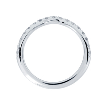 Platinum 0.31cttw Diamond Hermione Wedding Ring