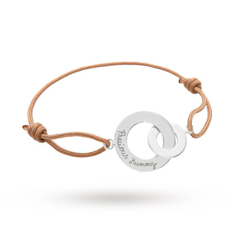 Exclusive - Message by Merci Maman Precious Mummy Silver Bracelet