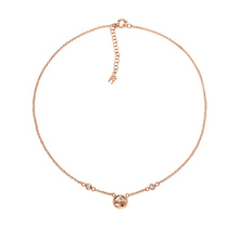 Folli Follie Heart4Heart Win Rose Necklaces Clear Short
