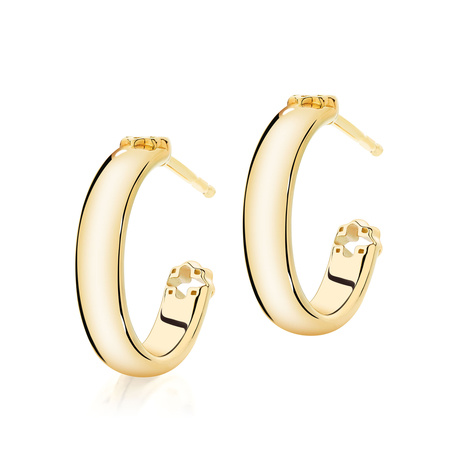 Birks Muse Polished Hoop Earrings