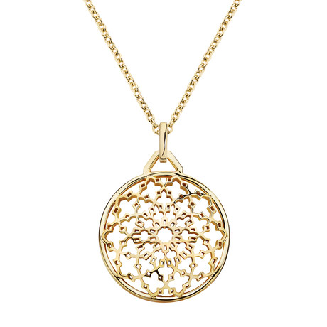 Birks Muse Mesh Ball Necklace