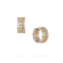Birks Muse 0.19ct Diamond Stacked Earrings
