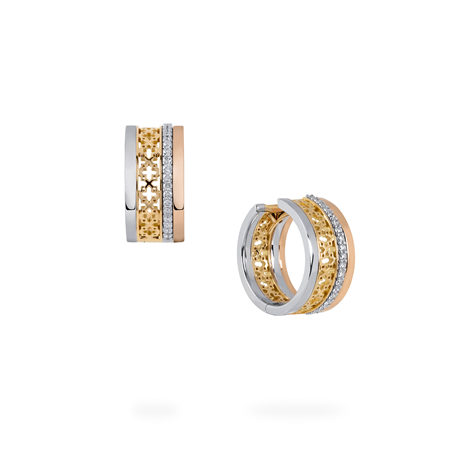 Birks Birks Iconic ™ Dare to Dream 0.19ct Diamond Stacked Earrings