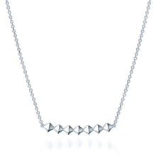 Birks Silver Bar Necklace
